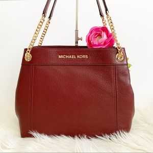 NWT Michael Kors Jet Set Shoulder Bag